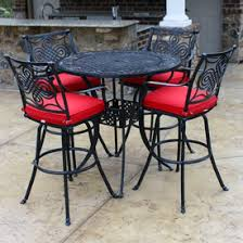 Patio Chairs Bar Height Bar Height Patio Furniture Family Leisure