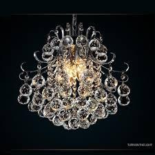 elegant crystal chandelier modern ceiling hanging light for living