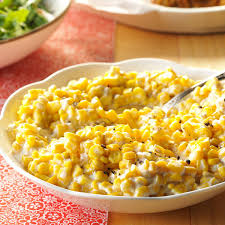 corn recipes for thanksgiving creamy corn recipe taste of home
