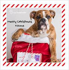 boxer dog xmas boxer dog christmas card santa u0027s post rachael hale funky pigeon