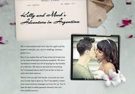 wedding gift lists exle honeymoon funds and wedding gift lists buy our honeymoon