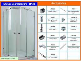 arc frameless glass sliding shower enclosure tp 30 frameless