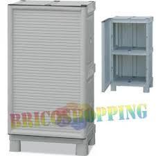 armadietti in pvc armadio resina tuttopiani il piu forte pvc x esterno 50x92x39