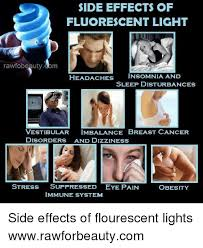 fluorescent lights and headaches ide effects of fluorescent light rawfobeautydbm headaches insomnia