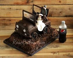 jeep mud mud riding jeep groom u0027s cake rose bakes