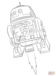 star wars rebels chopper super coloring lineart star wars