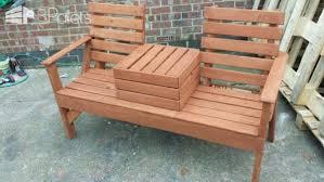 Love Chairs Pallet Love Seat U2022 1001 Pallets