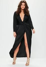 sleeve black dress plus size clothing plus size women s fashion missguided