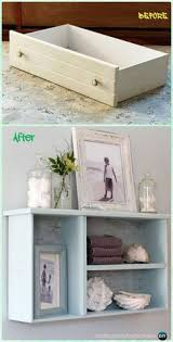 table with drawers and shelves upcycled repurposed dresser drawers into an adorable end table