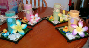 luau table centerpieces hawaiian party table decoration centerpieces party theme decoration