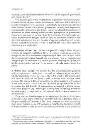 appendix e field visit summary report improving democracy