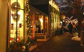 How To Hang Christmas Lights In Room America U0027s Best Towns For The Holidays Travel Leisure
