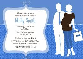 couples baby shower invitations silhouette it s a boy baby shower invitations candles
