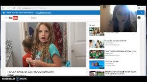 Bathroom Spy Cam by Reacting To Hidden Camera Bathroom Concert Youtube