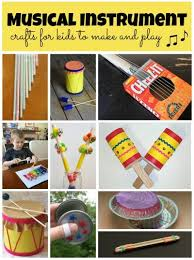 Musical Instruments Crafts For Kids - musical instrument crafts fun family crafts
