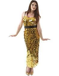 womens pop star group sequin dress fancy dress costume
