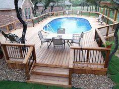 best 25 above ground pool decks ideas on pinterest swimming
