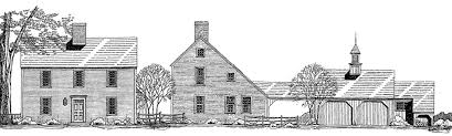 Saltbox Architecture The Plymouth Saltbox Colonial Exterior Trim And Siding The