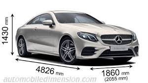 mercedes length mercedes e coupé 2017 dimensions boot space and interior