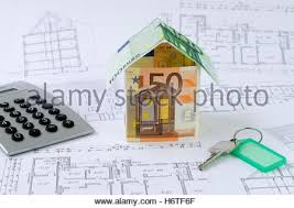 House Building Calculator House Building Euro Cost Bank Notes Yardstick House Build Stock