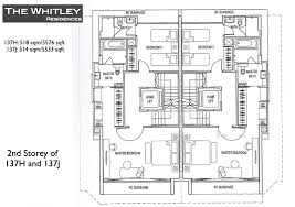 the whitley residences floor plans