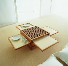 Table Designs Space Saving Design Collapsible Coffee U0026 Dinner Tables