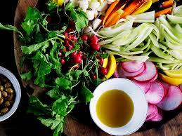 Garden Vegetable Salad by Garden Vegetable Platter Recipe Myrecipes
