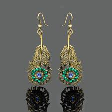 peacock design earrings dangle drop earings picture more detailed picture about european