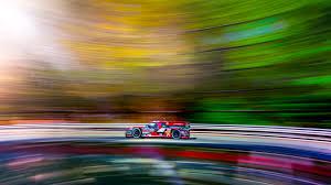 jm lexus hertz visit florida racing long exposure composite at daytona