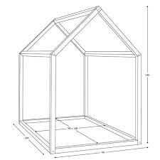 dimension chambre enfant bonnesoeurs design lit maison dimensions chambre enfant