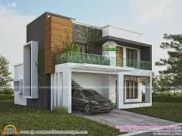 Green home contemporary style Kerala home design