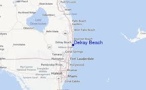 map of delray delray surf forecast and surf reports florida south usa