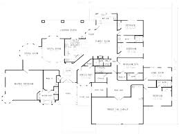 2 story 5 bedroom house plans 1 level home plans corglife
