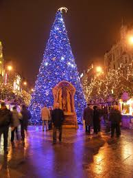 christmas tree and christmas eve prague eu