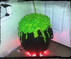 halloween witch pot easy witch u0027s cauldron from a yoga ball 8 steps with pictures
