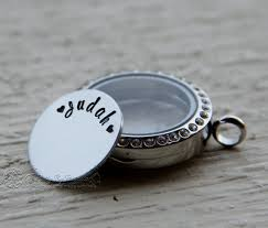 custom lockets custom locket plate personalized plate memory locket plate custom