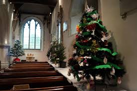 third place for hvs in the christmas tree festival hoe valley