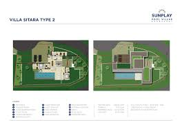 the pool villas floor plans sunplay