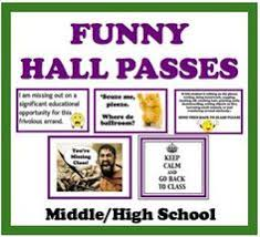 Bathroom Pass Template Back To Meme Hall U0026 Bathroom Passes Funny U0026 Sarcastic