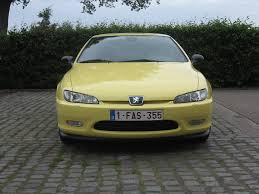 peugeot yellow 1998 peugeot 406 coupé v6