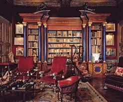 le de bureau style anglais des idées déco le bureau bibliothèque baron grand library and