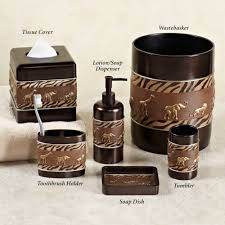 animal print bathroom ideas animal parade safari bath accessories africans bathroom