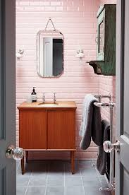 gray bathroom tile ideas 36 retro pink bathroom tile ideas and pictures