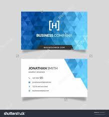 set modern vertical business card print stock vector 629607839