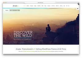 avada theme portfolio order 20 best wordpress themes with slider 2018 colorlib