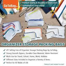Amazon Travel Items Amazon Com Organizer Storage Packing Bags By Gotobag Water