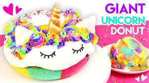how to make a giant rainbow donut cake youtube