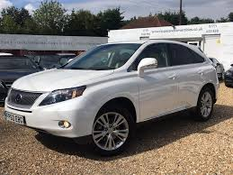 lexus uk advert used 2011 lexus rx 450h 3 5 se i station wagon cvt 5dr for sale in