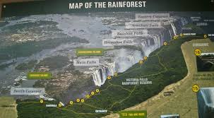 Victoria Falls Map Victoria Falls Best Time To Visit Tips Before You Go Map