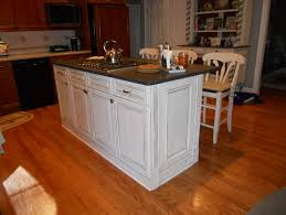 Kitchen With Light Oak Cabinets Light Oak Cabinets With Black Granite Countertops Kitchen